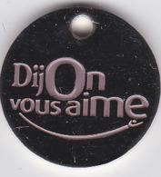 Jeton De Caddie Metal - DIJON - Dijon Vous Aime - Jetons De Caddies