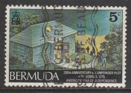 Bermuda 1975 The 200th Anniversary Of Gunpowder Plot, St. George's 5 C Multicoloured SW 321 O Used - Bermuda