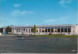 Cpsm Rouen Boos, Aéroport, Aire De Stationnement Et Centre D'accueil, Avion - Aerodromes