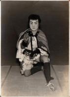Photo Originale日本 Ishfi Japon - Samouraï 侍, Ninja, Guerrier Japonais & Son Sabre Descendant De Yamaoka Tesshū - Guerra, Militares