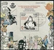 2018-ED. 5227 H.B. 25 Años Muestra Internacional De Las Artes Del Humor. Humor Gráfico -USADO - - 2011-... Gebraucht