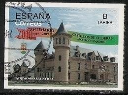 2018-ED. 5223 - Centenario De Los Castillos De Valderas. Alcorcón (Madrid)- USADO - 1931-Hoy: 2ª República - ... Juan Carlos I