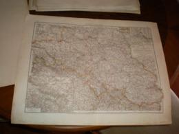 Provinz Schleisen Volks Und Familien Atlas A Shobel Leipzig 1901 Big Map - Cartes Géographiques