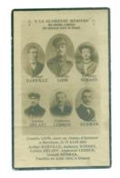 WO1 / WW1 - Doodsprentje Gesneuvelde Ex-wezen Dinant - Décès