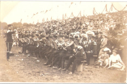 KREFELD 1813 - 1913 Jahrhundertfeier 2. Westfälisches Husaren Regiment Nr 11 Kapelle Mit Dirigent Vor Tribüne Fast TOP-E - Krefeld