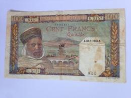 Algerie L'Algerie 100 Francs 1945 Pick 85 Ref 3157 - Algeria