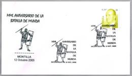 2100 AÑOS DE LA BATALLA DE MUNDA - 2000 Years Battle Of Munda. Roman Soldier. Montilla, Cordoba, Andalucia, 2005 - Militares