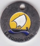 Jeton De Caddie Metal - DIJON - La Toison D'Or - Centre Commercial - Jetons De Caddies