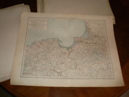 Provinzen West Und Ostpreussen Volks Und Familien Atlas A Shobel Leipzig 1901 Big Map - Cartes Géographiques