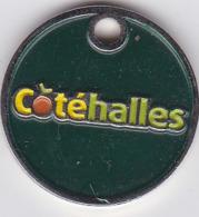Jeton De Caddie Metal - Côté Halles - Jetons De Caddies