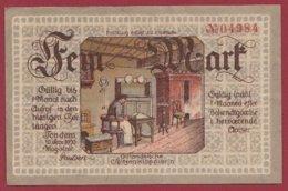 Allemagne 1 Notgeld  De 5 Mark Stadt Tondem   (  TRES RARE ) Dans L 'état N° 4979 - [ 3] 1918-1933 : República De Weimar