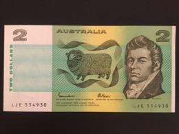Australia  $2 Dollar Banknote 1985 AUnc Ref 4930 - Dezimale Regierungsausgaben 1966-...