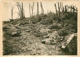GRANDE PHOTO ORIGINALE AGENCE SYRAL  LE MONT SAINT QUENTIN OFFENSIVE BRITANNIQUE FORMAT  17 X 13 CM - Oorlog, Militair