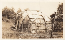 RP: WISCONSIN , 20-30s ; Indian Wigwam - Native Americans