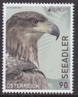 Austria, Fauna, Birds, EUROPA MNH / 2019 - Eagles & Birds Of Prey