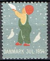 DENMARK #  CHRISTMAS STAMPS FROM 1954** - Otros
