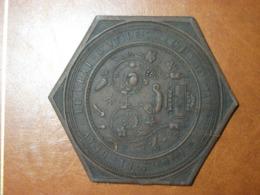 Cie Lincrusta-Walton Française à Pierrefitte (93) - Echantillon - 1880 - Tenture Artistique Imperméable Papiers Peints - Reclame