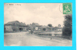 CPA BORLEZ : L'Etang - Circulée En 1913 - Ed. Laflotte N° 3 - TB état - 2 Scans - Faimes
