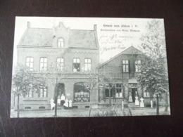 Gruss Aus Ahlen Restauration 1907 - Ahlen