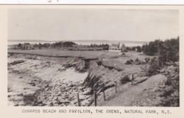 CUNARDS BEACH AND PAVILION. THE OVENS NATURAL PARK - Nova Scotia