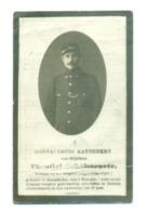 WO1 / WW1 - Doodsprentje Theofiel Schelstraete - Mariakerke / Bassum (D) - Gesneuvelde - Obituary Notices