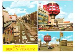 Deutschland - Berlin Steglitz - C&A Kaufhaus - Cars - Autos - Old Bus - Steglitz