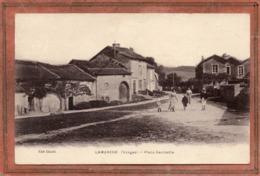 CPA - LAMARCHE (88) - Aspect Du Quartier De La Place Gambetta En 1917 - Lamarche