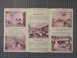 Cx 12) Turismo Portugal Lisboa Hotel Condestável Brochura Vintage 20,5x11cm - Dépliants Turistici