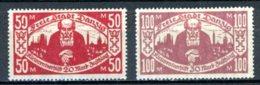 DE   Danzig    ---    Y&T   139 - 140    X     Mi    131 - 132  ---    Faibles Charnières   --   TB - Danzig