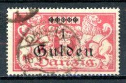 DE   Danzig    ---    Y&T   173    Obl     Mi   189      ---     TB - Danzig