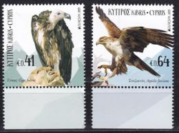 Cyprus, Fauna, Birds, EUROPA MNH / 2019 - Eagles & Birds Of Prey
