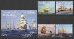 Jordan (2012) - Set + Block - /  Barcos - Bateaux - Ships - Schiffe - Barche - Barche