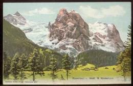 Schweiz, ROSENLAUI - Well & Wetterhorn - BE Berne