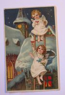 """""""Neujahr, Engel, Leiter, Sekt, Kirche"""" 1909 ♥   - Neujahr"""