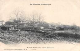 BLAYE Et Sainte Luce Vus Du Débarcadère - Frankrijk