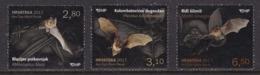Croatia, Fauna, Animals, Bats MNH / 2017 - Bats