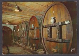 103578/ ALSACE, Dans Le Vignoble, Une Cave Aux Tonneaux Sculptés - Alsace