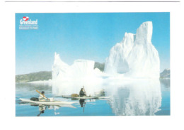 Grönland - Greenland - Kayaker - Nice Stamp Timbre - Groenlandia