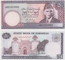 (B0036) PAKISTAN, 1986- (ND). 50 Rupees. P-40. UNC - Pakistan