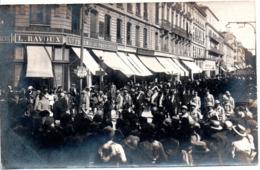 84 AVIGNON CARTE PHOTO DEVANTURE VAUCLUSE REGIMENT PRESIDENT REPUBLIQUE - Avignon