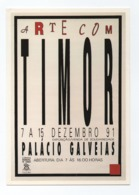 TIMOR LESTE EAST TIMOR - ART POSTCARD Year 1991 PORTUGAL - East Timor