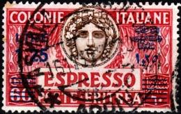 Italia-A-0900 - ERITREA: Espressi 1935-37 (o) Used - Sovrastampa AZZURRA - Senza Difetti Occulti. - Eritrea