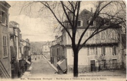 TERRASSON - Dordogne - Rue Rastignac Et Avenue De La Gare - Autres Communes
