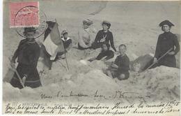 FRANCE - BERCK-PLAGE - Sur Le Sable 1903 - Berck