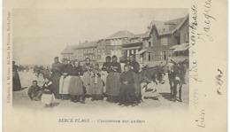FRANCE - BERCK-PLAGE - L'ENTONNOIR DES ANIERES 1903 - Berck