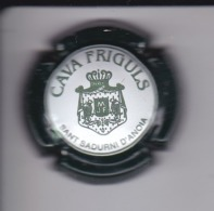 PLACA DE CAVA FRIGULS  (CAPSULE) COLOR VERDE OSCURO - Placas De Cava