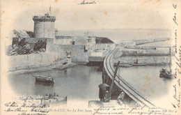 64 PYRENEES Atlantiques Le Chemin De Fer Au Fort Socoa De St JEAN De LUZ Carte Précurseur - Saint Jean De Luz