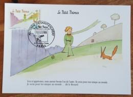 CM 1998 - YT N°3176 - ANTOINE DE SAINT EXUPERY / LE PETIT PRINCE - PARIS - Maximum Cards