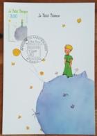 CM 1998 - YT N°3177 - ANTOINE DE SAINT EXUPERY / LE PETIT PRINCE - PARIS - Cartas Máxima