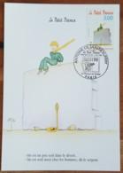 CM 1998 - YT N°3178 - ANTOINE DE SAINT EXUPERY / LE PETIT PRINCE - PARIS - Maximum Cards